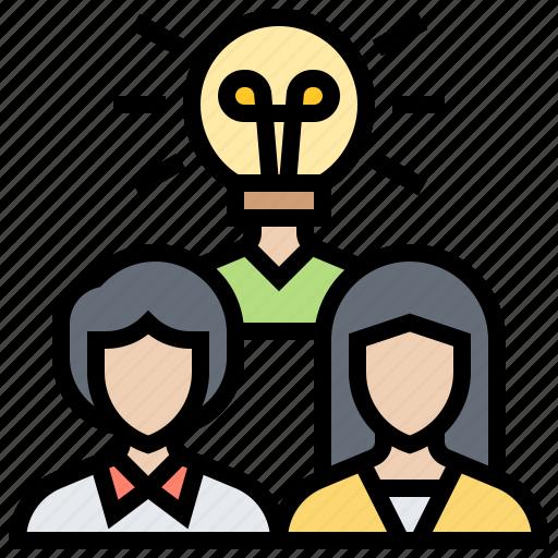Brainstorm, development, experienced, knowledge, team icon - Download on Iconfinder