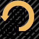 agile, design, development, emergence, software icon