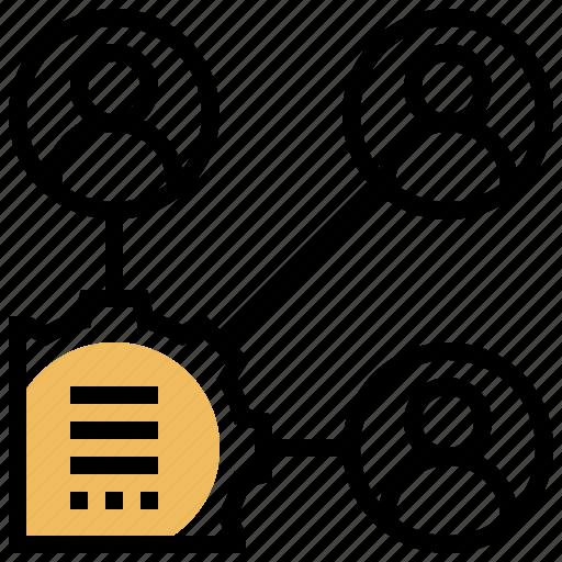 communication, developer, meeting, stakeholders, teammate icon