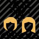 brainstorm, development, experienced, knowledge, team icon