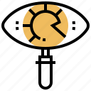 development, direction, product, purpose, vision icon