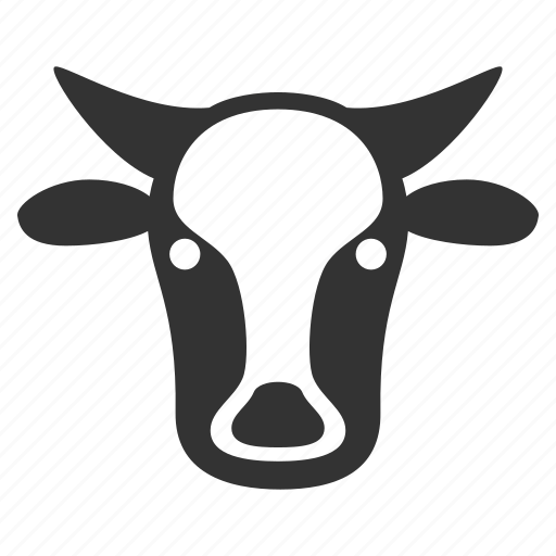 beef, bull, cattle, cow head, livestock, neat, ox icon