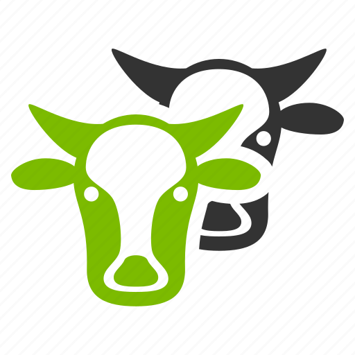 beef, bull, cattle, cow heads, livestock, neat, ox icon