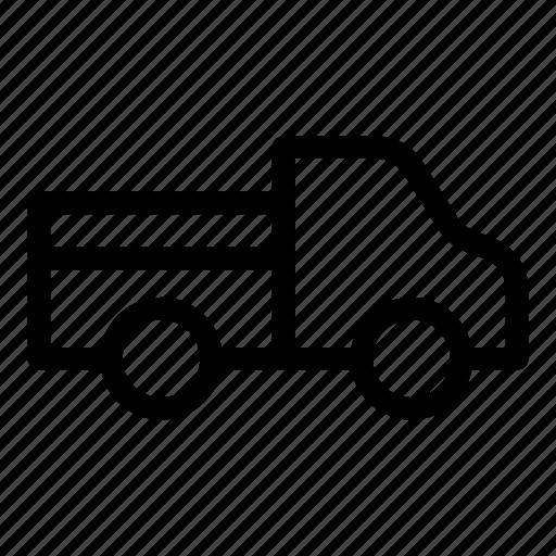 farming, pickup, pickup truck, transport, transportation, truck, vehicle icon