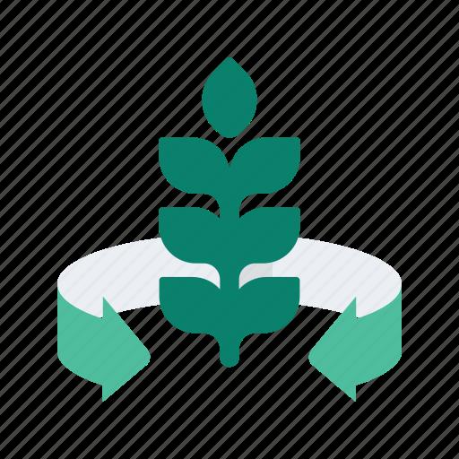 Agriculture, farm, farming, fertilizer, organic, plant icon - Download on Iconfinder