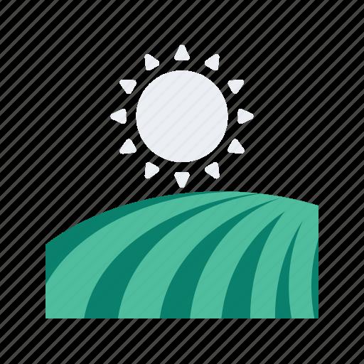 agriculture, farm, farming, field, organic icon