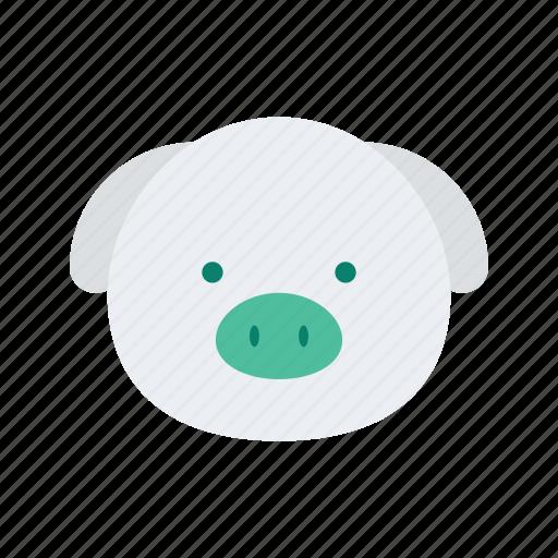 agriculture, animal, farm, farming, organic, pig icon