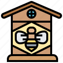 apiary, bee, cultivation, hive, honey icon