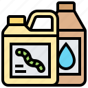 agriculture, chemicals, fertilizer, gallon, pesticide icon