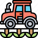 agriculture, machinery, tractor, farming, industry