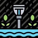 irrigation, watering, seedling, grow, farm