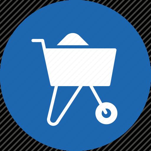 agriculture, buggy, garden, tool, wheelbarrow icon