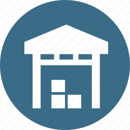 delivery, godown, storage, storehouse, transport, warehouse icon
