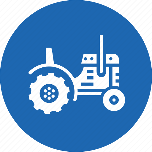 agriculture, farm, farming, tractor, vehicle, work icon