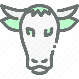 agriculture, bull, cow, farm, livestock, ox icon
