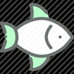 fish, food, marine, pisces, sea icon