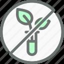 gmo, non, organic, plant, produce icon