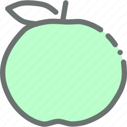 fruit, healthy, peach icon