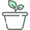 garden, gardening, leaf, plant, pot icon
