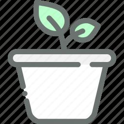 garden, gardening, leaf, plant, pot icon