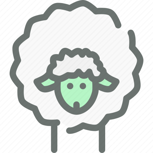 agriculture, farm, livestock, sheep, wool icon