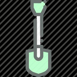 agriculture, dig, farm, garden, gardening, shovel, tool icon