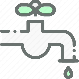 drop, faucet, tap, water icon