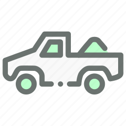 agriculture, carry, farm, load, transport, truck, vehicle icon