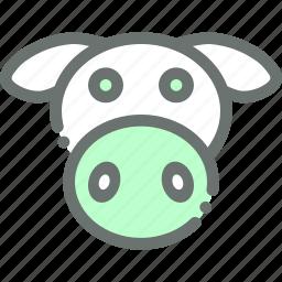 animal, cow, dairy, farm, livestock, milk icon