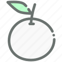 food, fruit, healthy, juicy, orange icon