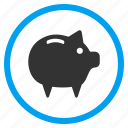 account, banking storage, finance, pig, piggy bank, savings, treasure icon