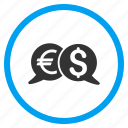 business, commerce, currency, finance, international, money, payments icon