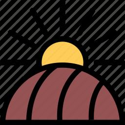 agriculture, farm, field, garden icon