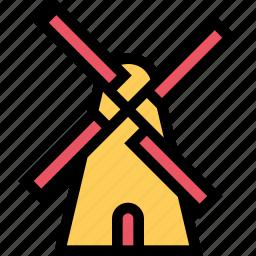 agriculture, farm, field, garden, mill icon