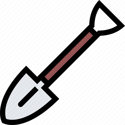 agriculture, farm, field, garden, shovel icon