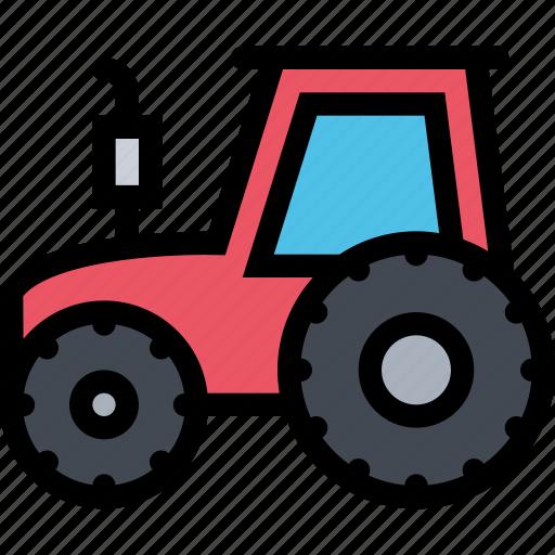 agriculture, farm, field, garden, tractor icon