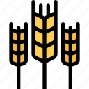 agriculture, farm, field, garden, wheat icon