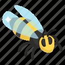 bee, bumblebee, honeybee, insect, moth icon