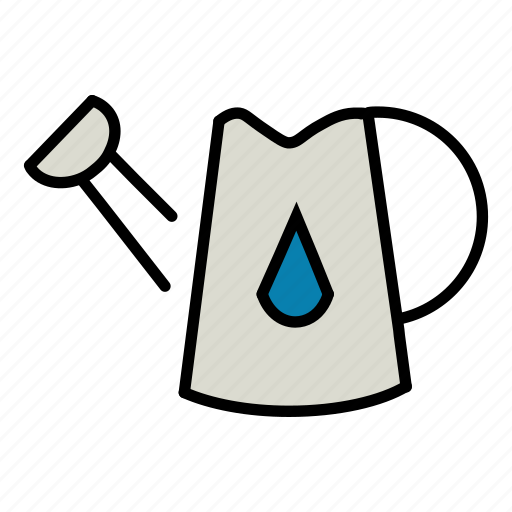 ecology, environment, garden, jug, nature, water, watering can icon