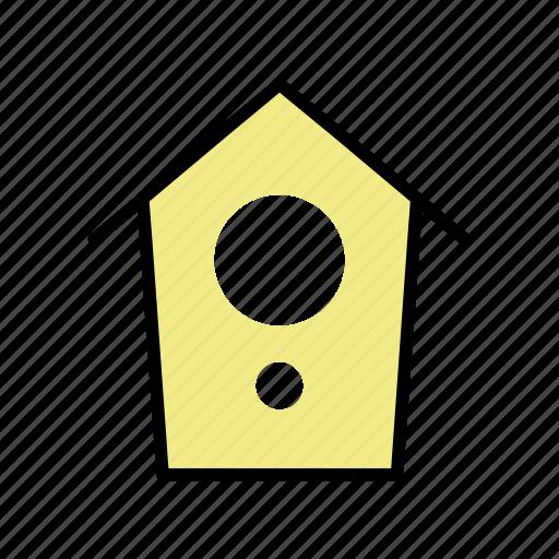 birdhouse, garden, house, nest, spring, tree icon