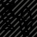 corn, dna, gmo, modified icon