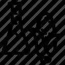 corn, gmo, lab, modified icon