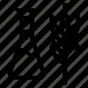 gmo, lab, wheat icon