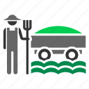 crop, farmer, farming, grain, harvest, hay icon