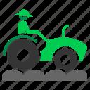 agriculture, farm, farmer, farming, tractor icon