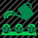 crop, farming, gardening, organic, vegetables, water, watering icon