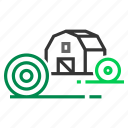 agriculture, barn, farm, farming, granary, hay icon
