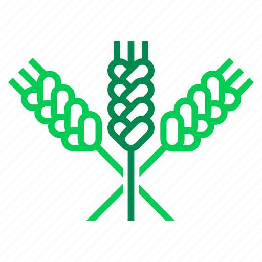 agriculture, crop, farming, grain, harvest, swath, wheat icon