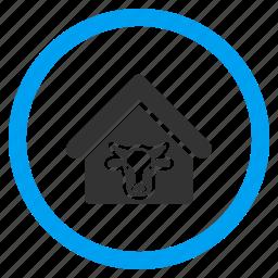 agriculture, bull, cattle, cow, domestic, farm, farming icon