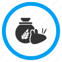 damage, food, harvest, parasite, pest, rat, rodent icon